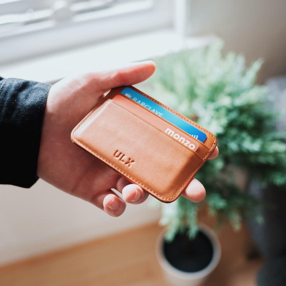 Bankkárta pénztárcában